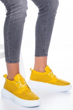 Gloria Kadın Sarı Sneaker 198016(120458966)