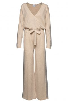 Angela Jumpsuit Beige LINE OF OSLO(114152879)
