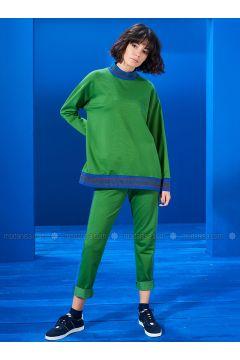 Polo neck - Green - Sweat-shirt - Mevra(110333663)