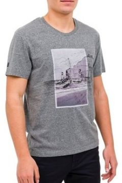 T-shirt Oxbow T-shirt Thoban gris(115507788)