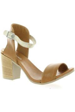 Sandales So Send Nu pieds cuir(127910334)