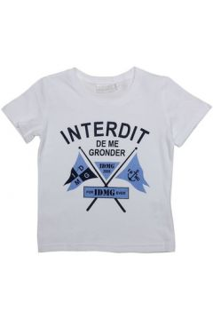 T-shirt enfant Interdit De Me Gronder FLAG(115540499)