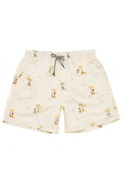 Shorts de Bain Katin Plaza Volley - Almond(114508454)