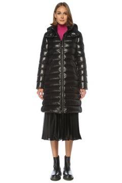 Moncler Kadın Siyah Kapüşonlu Puff Mont 0 US(122296609)