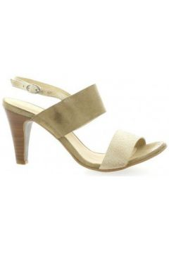 Sandales Ambiance Nu pieds cuir velours(127908582)