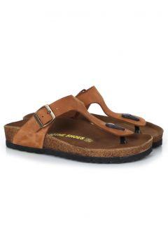 sothe shoes Bs-1100 Hakiki Deri Taba Bayan-erkek Parmak Arası Terlik(110953836)
