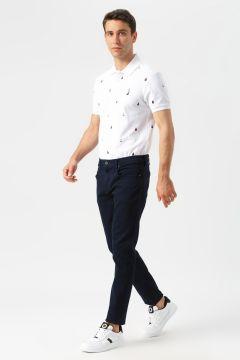 Nautica Mavi Slim Fit Denim Pantolon(113979583)