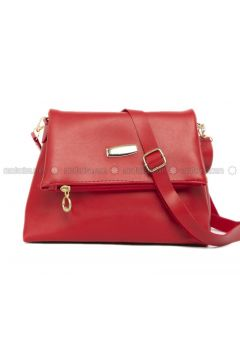 Red - Shoulder Bags - Bagmori(110320565)