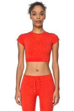 Jerf Captiva Kırmızı Crop Top T-Shirt(125280112)