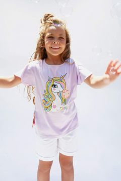DeFacto Kız Çocuk Regular Fit Basic Şort(119060596)