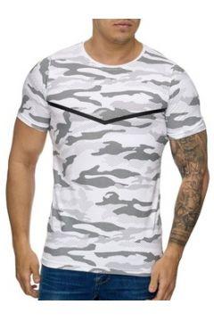 T-shirt Cabin T-shirt mode camouflage T-shirt 3178 blanc(115398205)