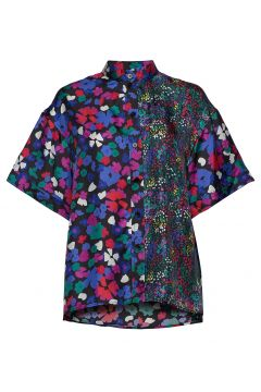 Briella, 883 Wildflowers Silk Blouses Short-sleeved STINE GOYA(116778845)