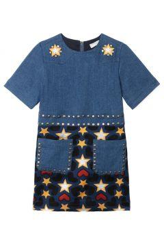 Kleid Denim und Jacquard Aurelie(113869124)