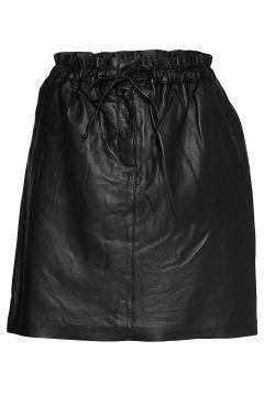 Emmykb Leather Skirt Kurzes Kleid Schwarz KAREN BY SIMONSEN(108575020)