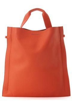 Cabas Orciani Sac en cuir martelé orange(115448154)