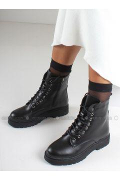 Black - Boot - Boots - İnan Ayakkabı(110336838)