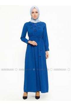 Saxe - V neck Collar - Unlined - Dresses - SUEM(110315273)