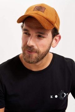 DeFacto Erkek Baskılı Şapka(125926539)
