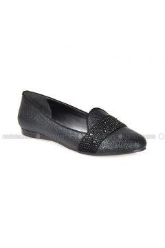 Black - Flat - Flat Shoes - Vizon(110330300)