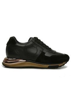 Salvatore Ferragamo Kadın Siyah Deri Sneaker 36 EU(127712633)