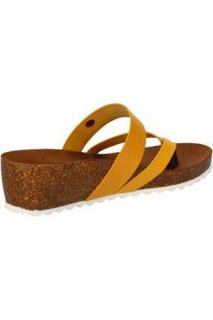 Sandales 5 Pro Ject sandales jaune cuir AC597(88469767)