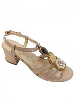 SMS Kadın Bakır Kleopatra Kadın Sandalet 3015(118440463)