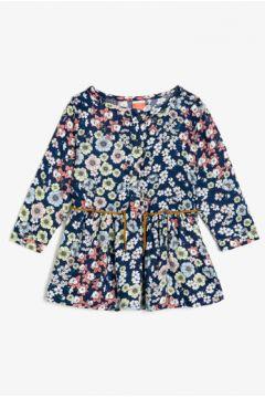 Koton Kız Çocuk Desenli Elbise(113404689)