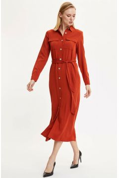 DeFacto Kadın Dokuma Elbise(108642302)