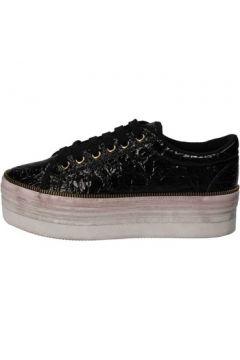 Chaussures Jc Play JC sneakers noir cuir verni AD391(115394068)