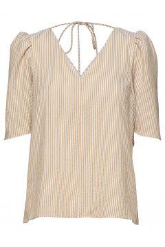 Dream Short Sleeve Blouses Short-sleeved Beige STORM & MARIE(116950883)