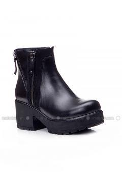 Black - Boot - Boots - Deripabuç(110313459)
