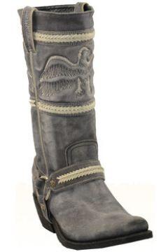 Bottes Sancho Boots Santiag en cuir vachette ref_san26585-gris 35(128012500)