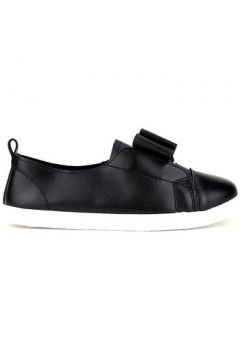 Chaussures Cendriyon Baskets Noir Chaussures Femme(115425182)