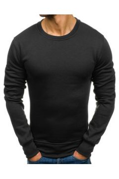 Pull Monsieurmode Pull pour homme casual Pull col rond M125 noir(115405828)