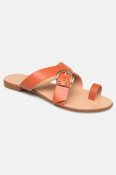 SALE -30 Essentiel Antwerp - Soquite sandals - SALE Clogs & Pantoletten für Damen / orange(111619889)