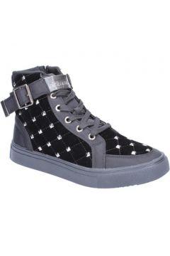 Chaussures Braccialini sneakers noir velours textile BX203(115442494)