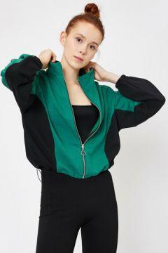 Koton Kadın Fermuar Detayli Sweatshirt(117383479)