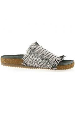 Sandales Mascha Nu pieds cuir laminé plomb(127880707)