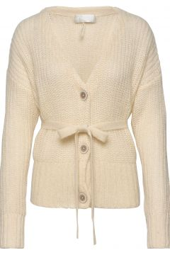 Kerstin Cardigan Strickpullover Gelb FALL WINTER SPRING SUMMER(116414291)