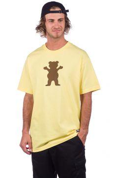 Grizzly OG Bear T-Shirt geel(117511511)