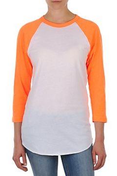 T-shirt American Apparel UNISEX POLY-COTTON 3/4 SLEEVE RAGLAN(127852907)