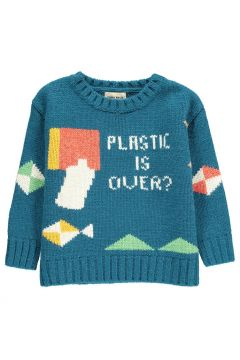 Pullover aus Wolle Plastic is Over(113867082)