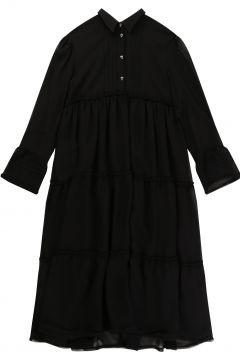 Langes Kleid gefüttert(117874466)