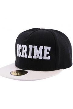Casquette Jbb Couture Snapback Crime Noire et Blanche(115455906)