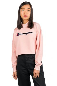 Champion American Logo High Neck Sweater roze(96894402)