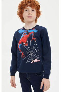 DeFacto Erkek Çocuk Spiderman Lisanslı Sweatshirt(125917298)
