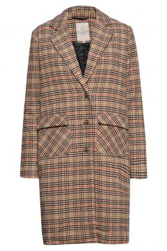 Dovie Coat Wollmantel Mantel Braun MINUS(114152542)