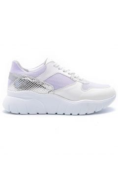 Derimod Beyaz Kadın Gümüş Detaylı Sneaker(110961282)