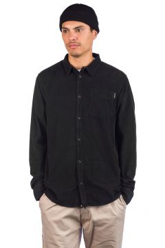 Dedicated Varberg Corduroy Shirt zwart(96833047)