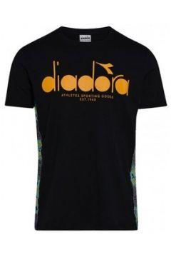 T-shirt Diadora T-SHIRT SS 5PALLE OFFSIDE / NOIR(115506555)
